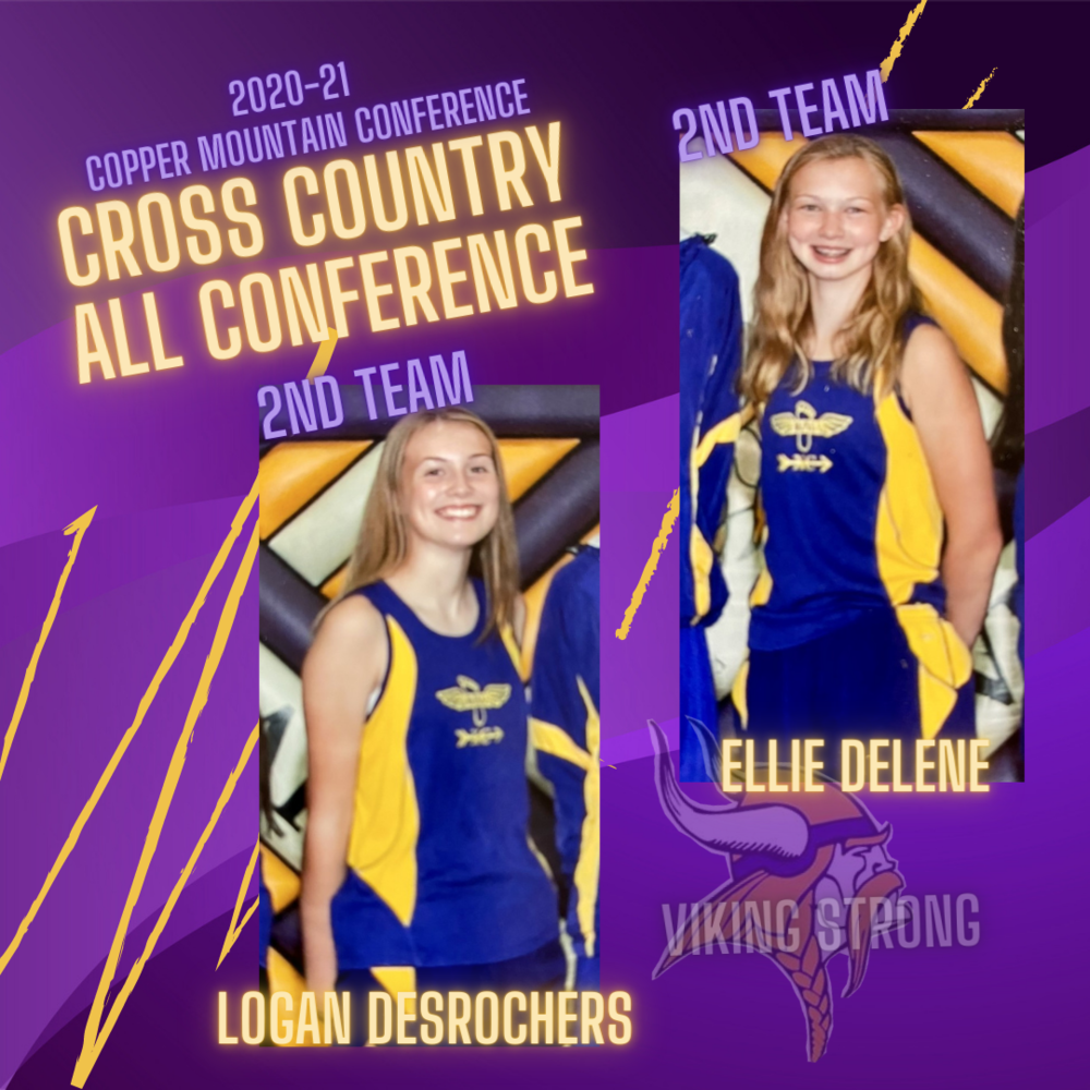 DesRochers & Delene earn Cross Country All Conference Honors
