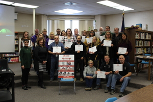 Staff Gets Trained In Stop The Bleed Program During Afternoon Professional Development