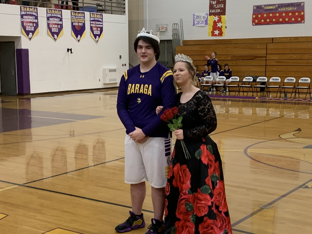 King Ryan Owens and Queen Erica Peterson