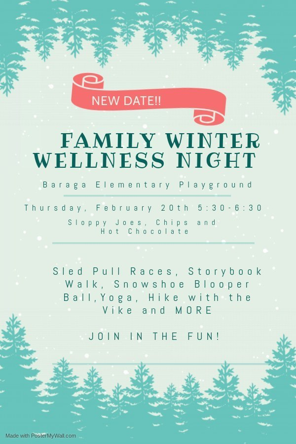 Winter Wellness Flyer