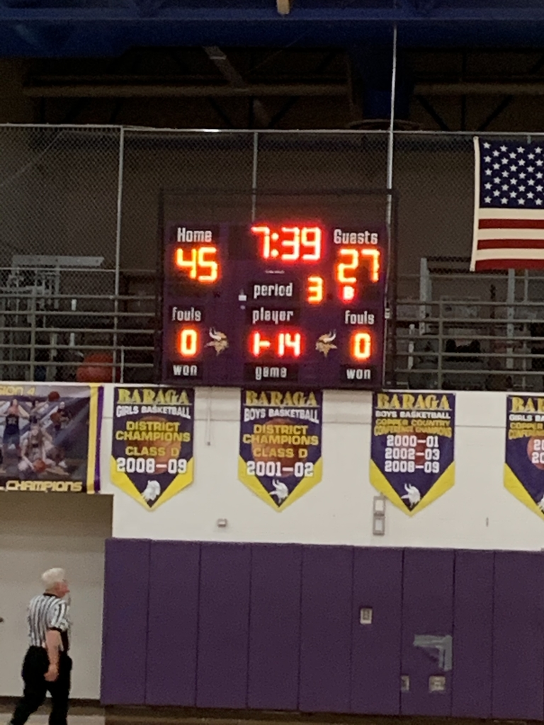 Boys up by 18 to start the 3rd quarter